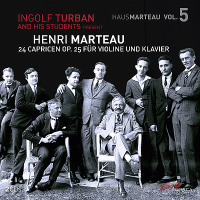 Cover CD Henri Marteau - VOL. 5