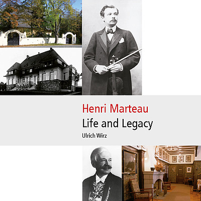 Cover Henri Marteau - Life and Legacy