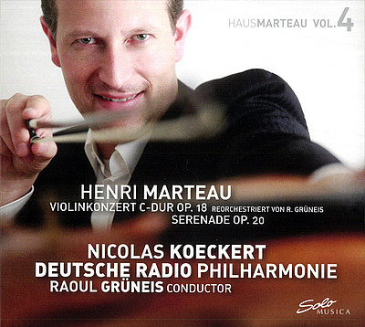 Cover CD Henri Marteau - VOL. 4